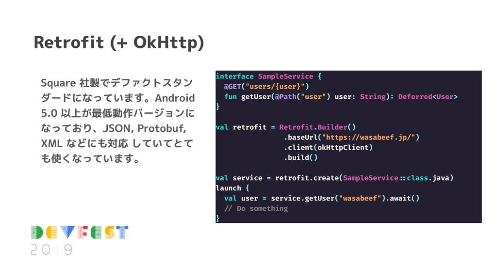 Square 社製でデファクトスタン ダードになっています。Android 5.0 以上が最低...