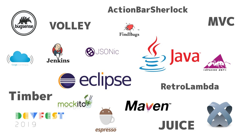 RetroLambda MVC VOLLEY JUICE ActionBarSherlock ...