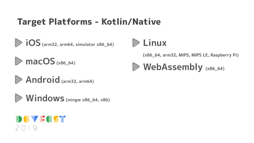 Target Platforms - Kotlin/Native iOS (arm32, ar...