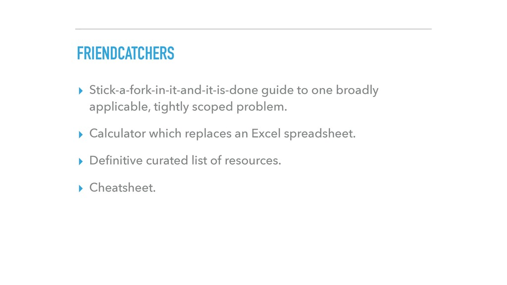 FRIENDCATCHERS ▸ Stick-a-fork-in-it-and-it-is-d...