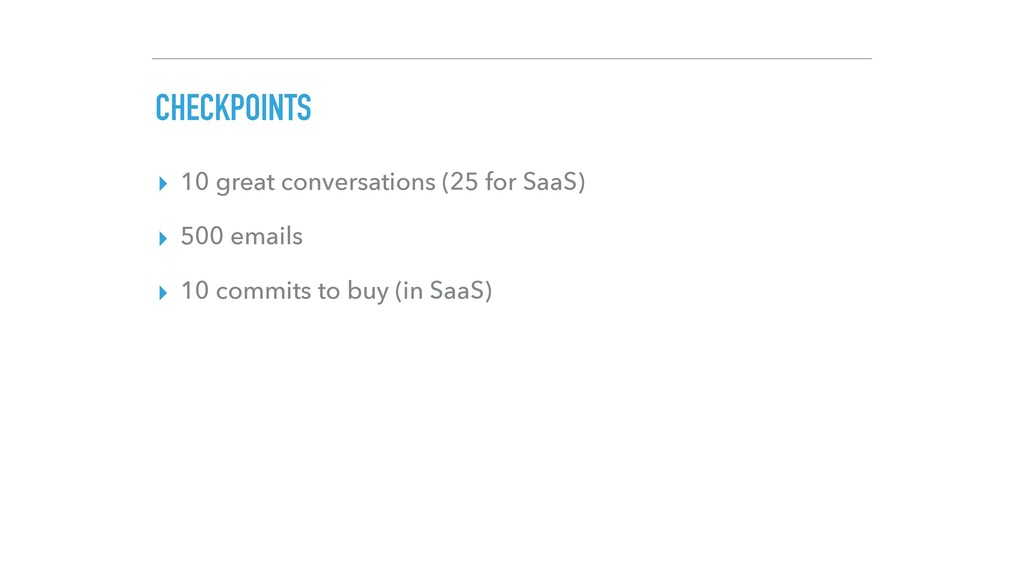 CHECKPOINTS ▸ 10 great conversations (25 for Sa...