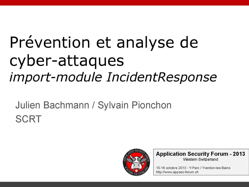 Application Security Forum - 2013 Western Switz...