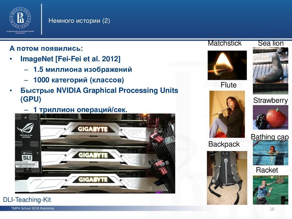TMPA School 2018 Kostroma Немного истории (2) 1...