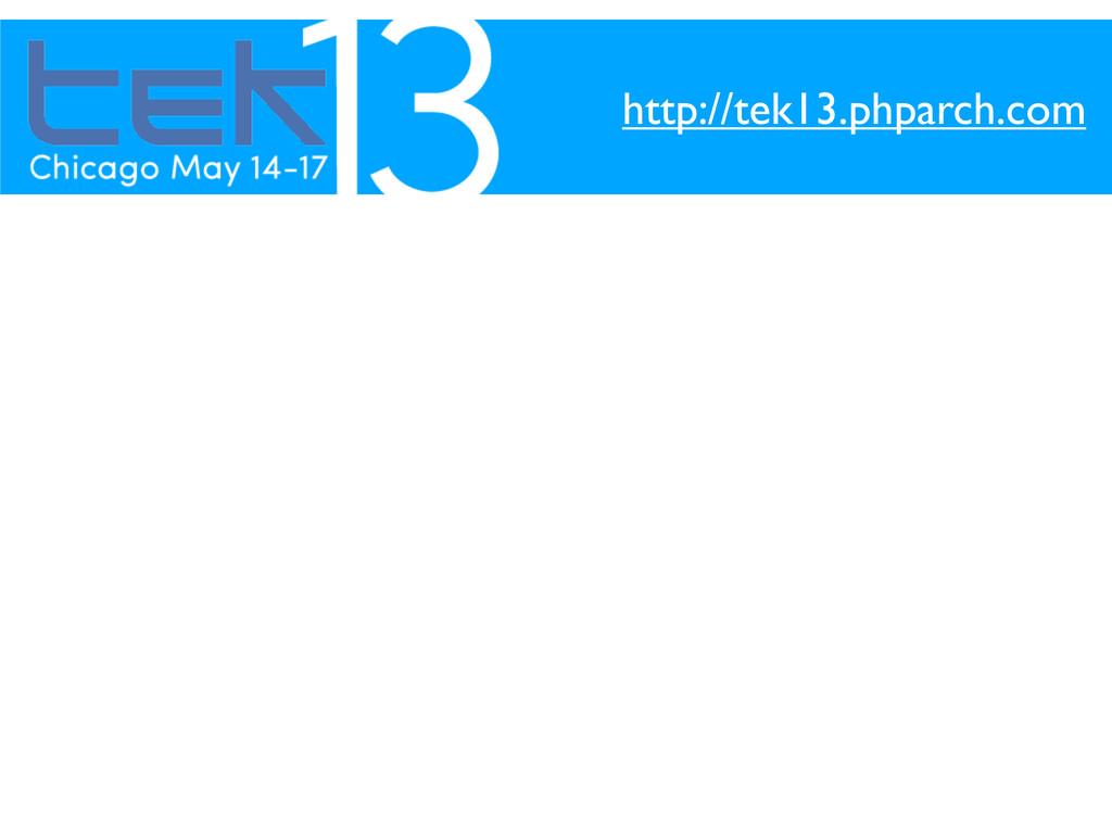 http://tek13.phparch.com