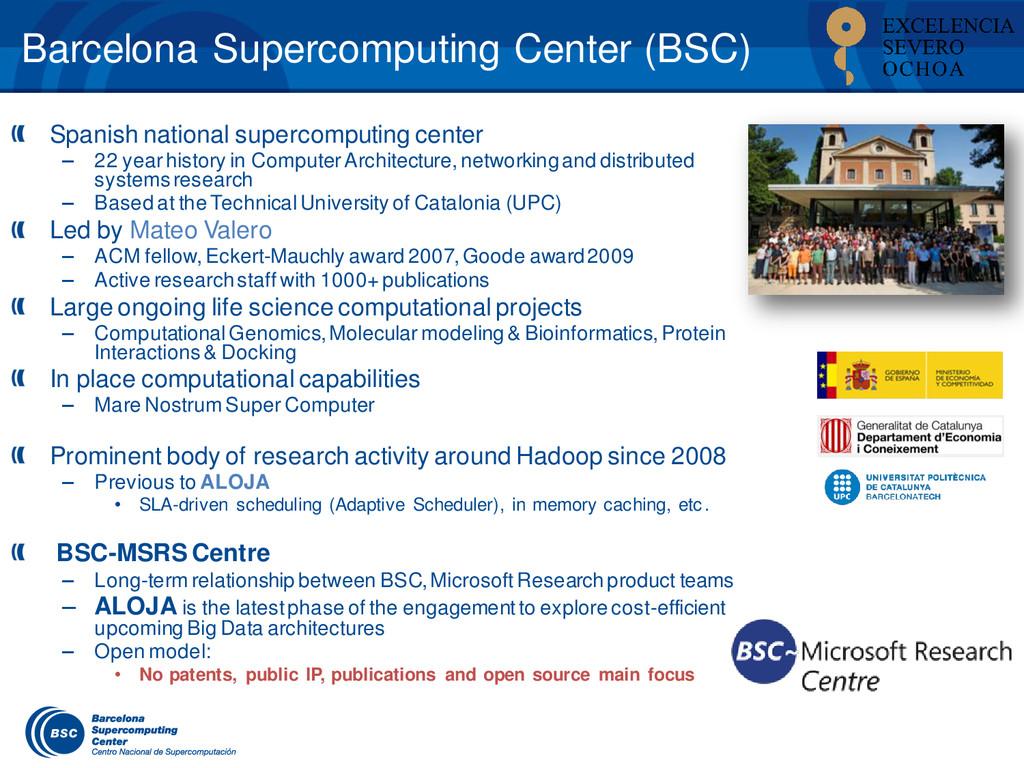 Barcelona Supercomputing Center (BSC) Spanish n...