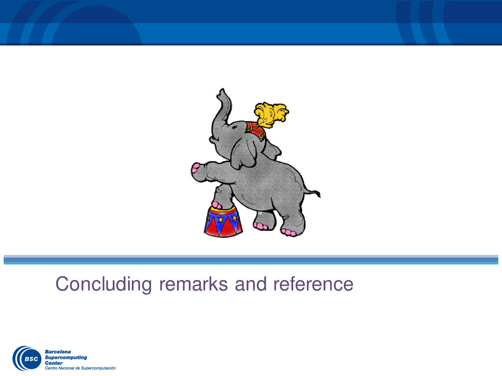 Concluding remarks and reference