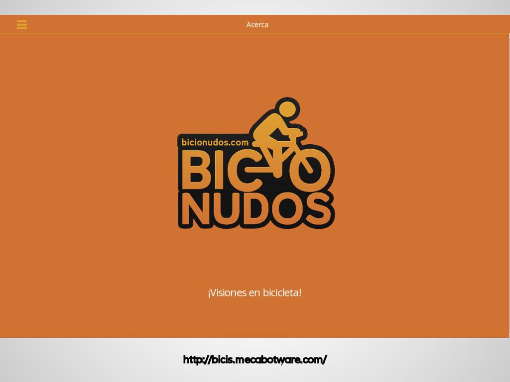 Beneficios http://bicis.mecabotware.com/