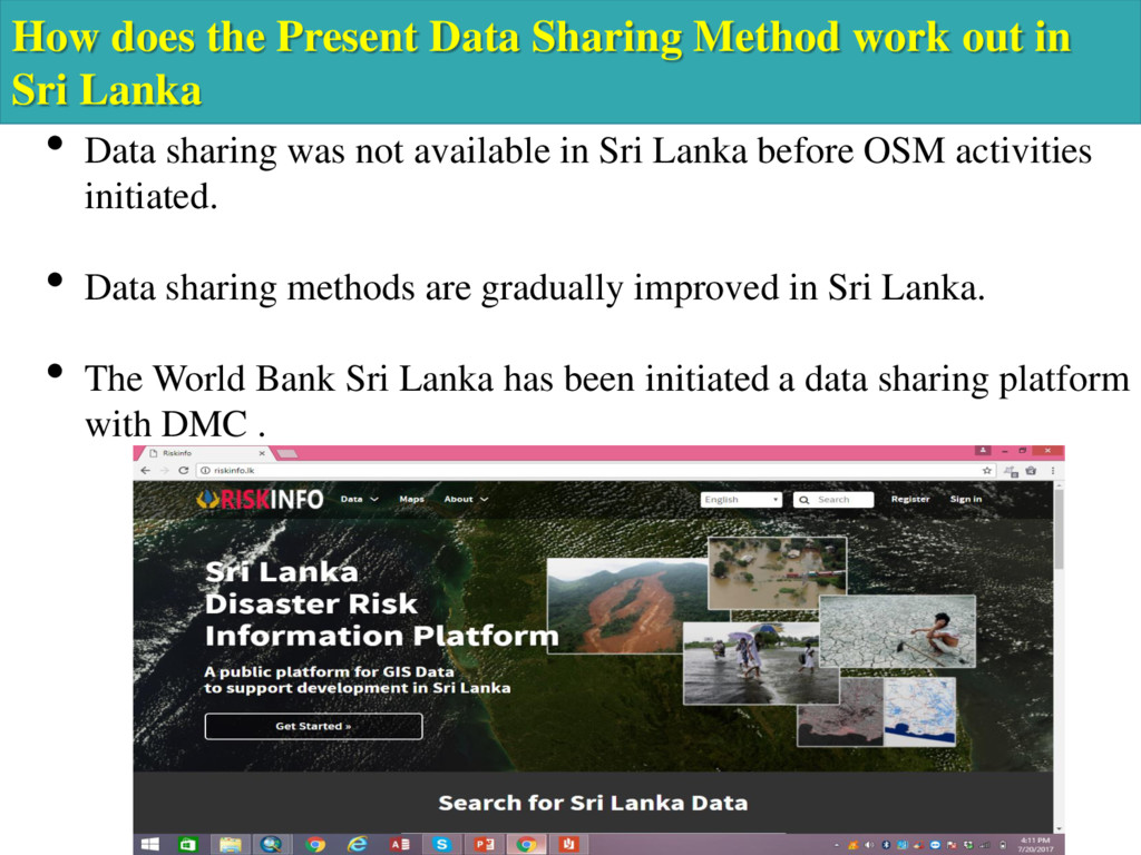 How does the Present Data Sharing Method work o...