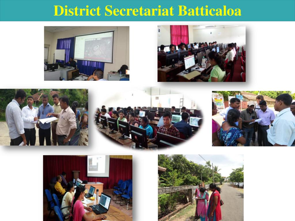 District Secretariat Batticaloa
