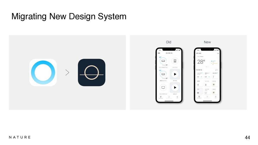 Migrating New Design System 44