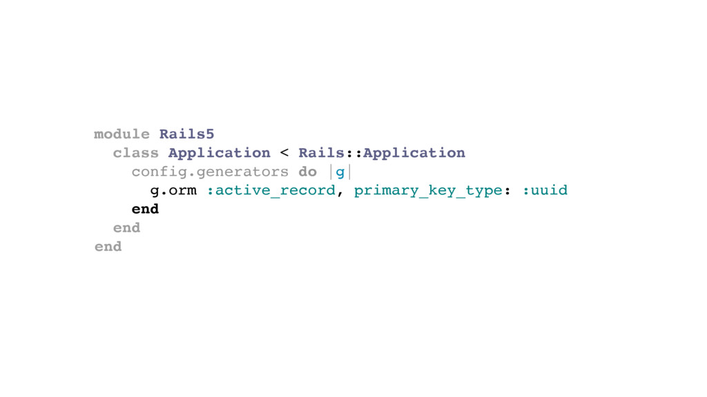 module Rails5 class Application < Rails::Applic...