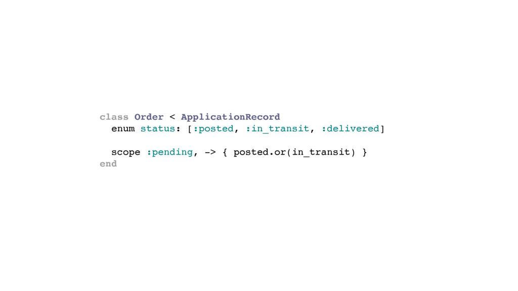 class Order < ApplicationRecord enum status: [:...