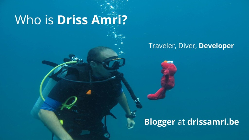 Who is Driss Amri? Blogger at drissamri.be Trav...