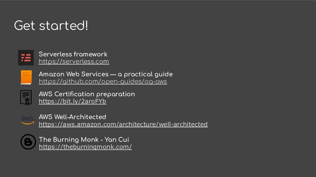 Get started! Amazon Web Services — a practical ...