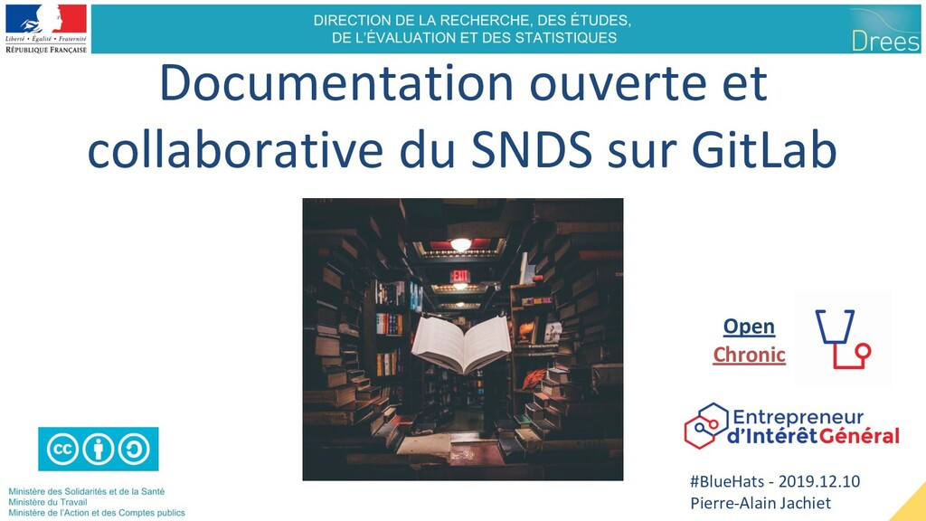Documentation ouverte et collaborative du SNDS ...