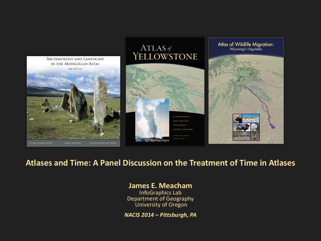 Atlases and Time: A Panel Discussion on the Tre...