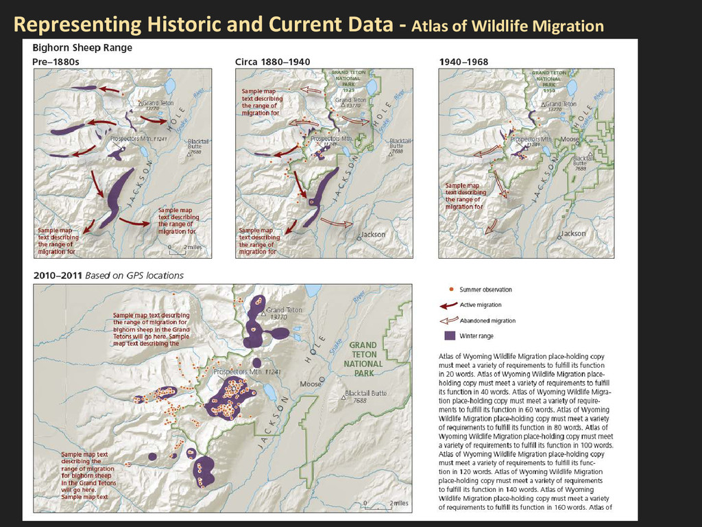 Representing Historic and Current Data - Atlas ...