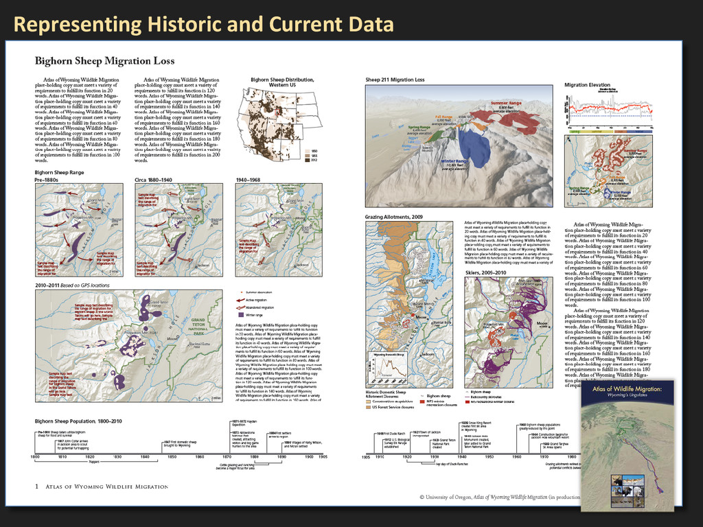 Representing Historic and Current Data