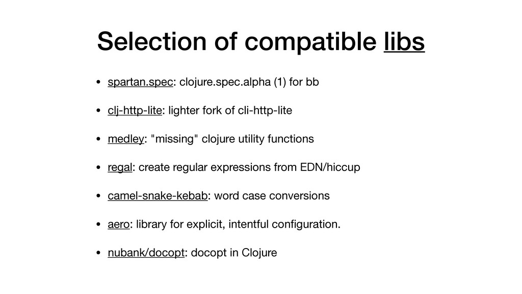Selection of compatible libs • spartan.spec: cl...