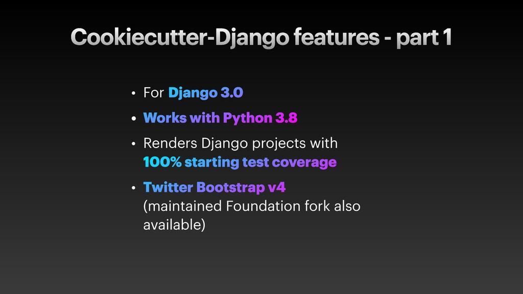 Cookiecutter-Django features - part 1 • For Dja...
