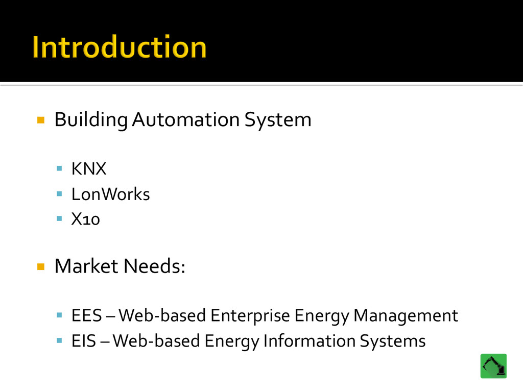 ¡ Building Automation System  § KN...