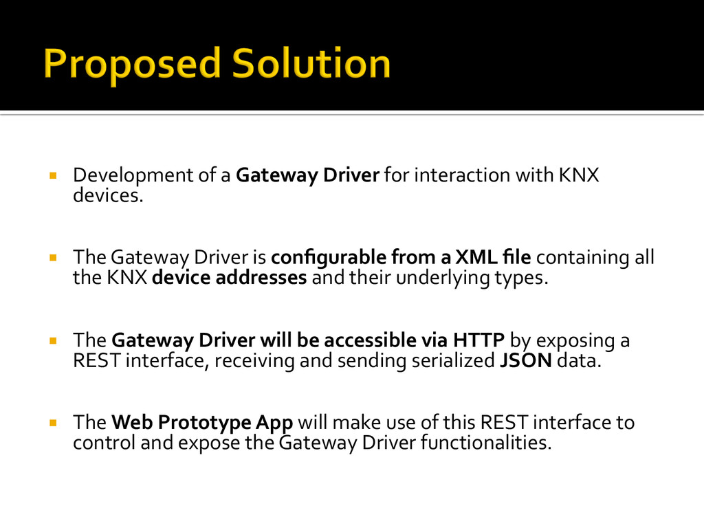 ¡ Development of a Gateway Driver...