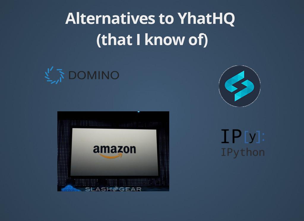 Alternatives to YhatHQ Alternatives to YhatHQ (...