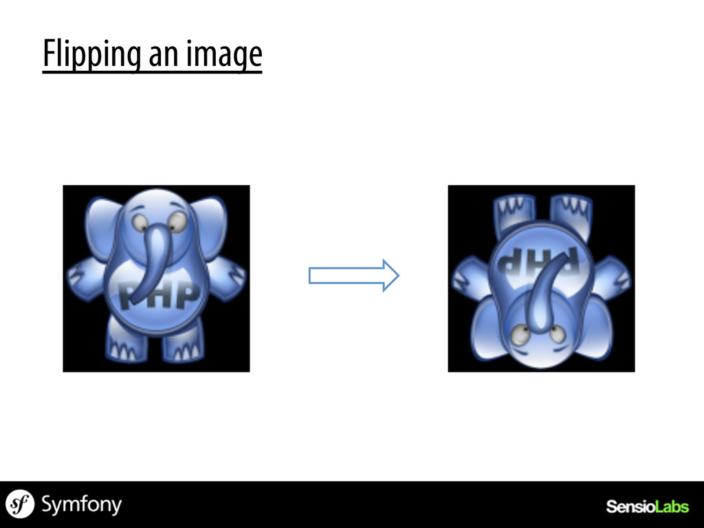 Flipping an image