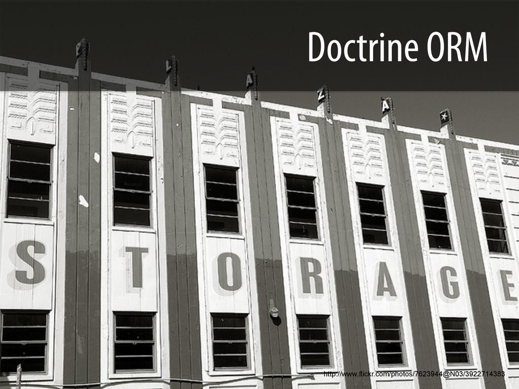 Doctrine ORM http://www.flickr.com/photos/76239...