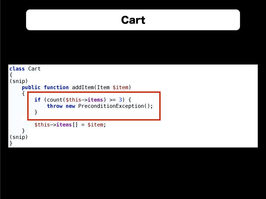 $BSU class Cart { (snip) public function addI...