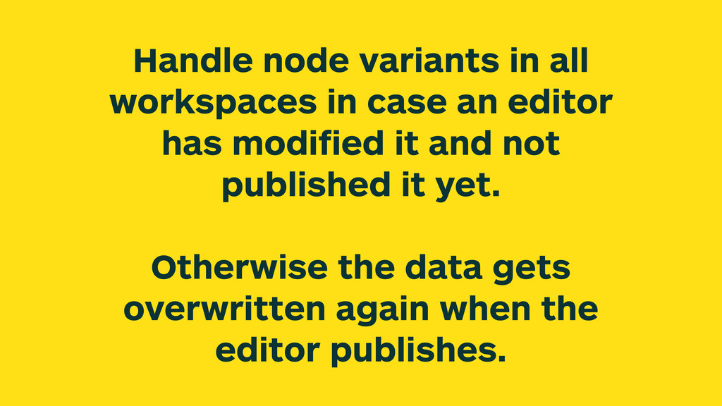 Handle node variants in all workspaces in case ...