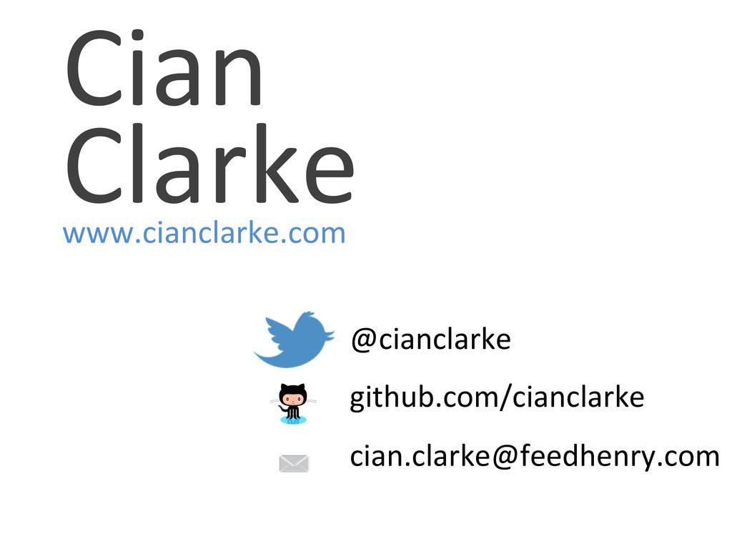 Cian  Clarke  www.cianclarke.com   ...