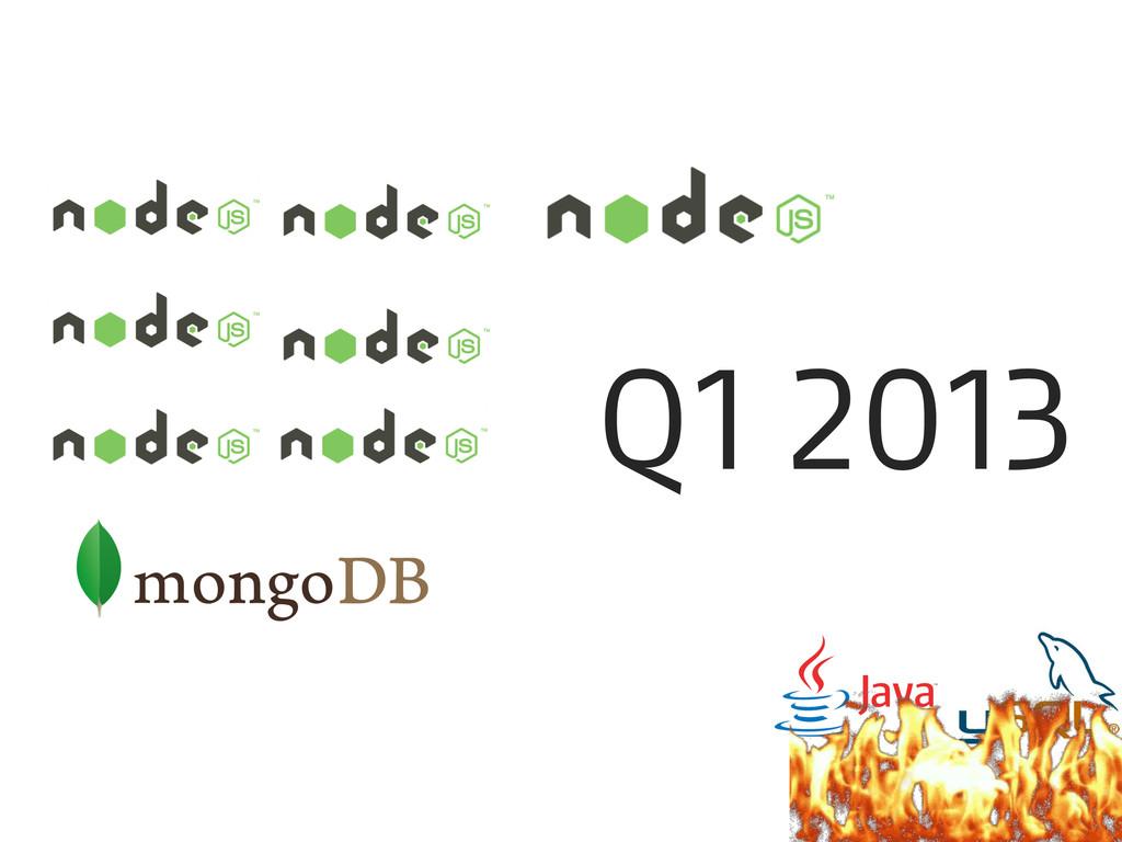 Q1 2013