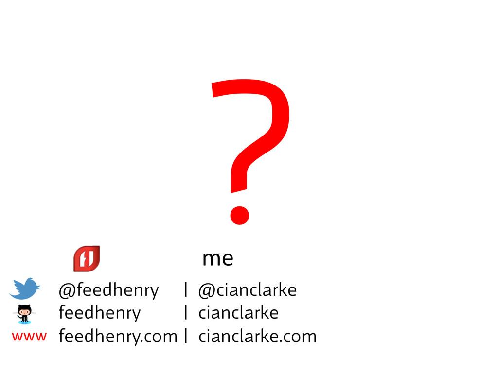 ? @feedhenry | @cianclarke  feedhenry | cian...