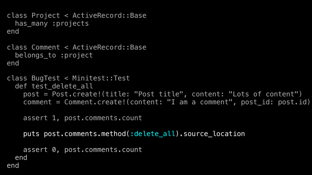 class Project < ActiveRecord::Base has_many :pr...