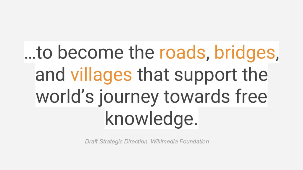 …to become the roads, bridges, and villages tha...