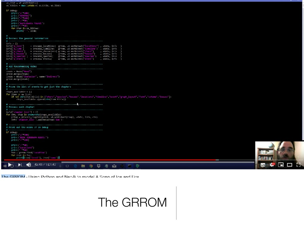 The GRROM