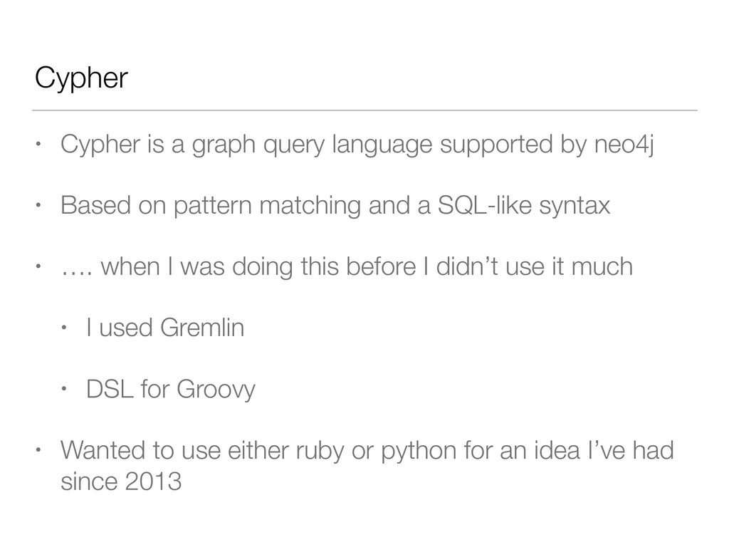 Cypher • Cypher is a graph query language suppo...