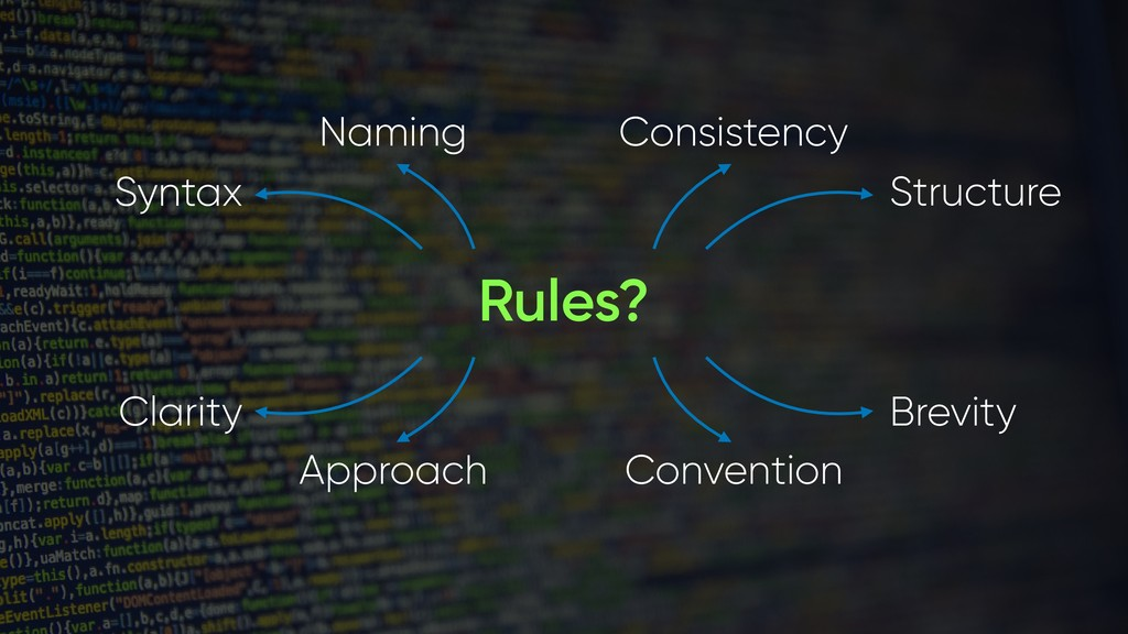 Rules? Structure Consistency Brevity Convention...