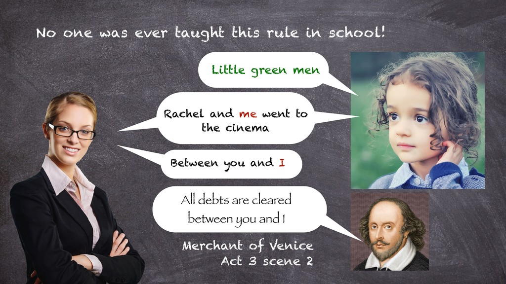 No one was ever taught this rule in school! Lit...