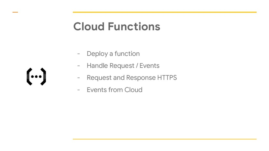 Cloud Functions - Deploy a function - Handle Re...