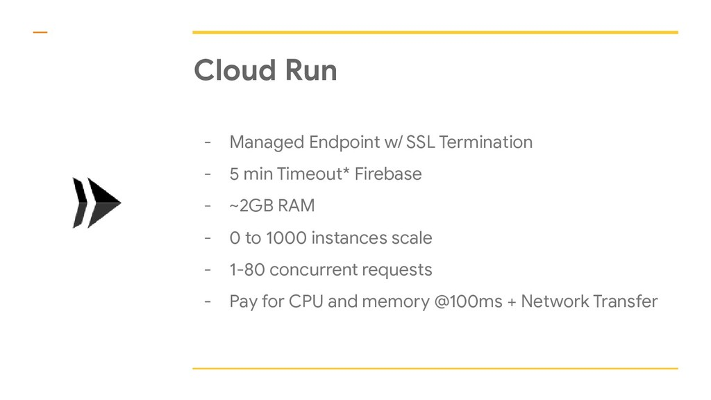 Cloud Run - Managed Endpoint w/ SSL Termination...