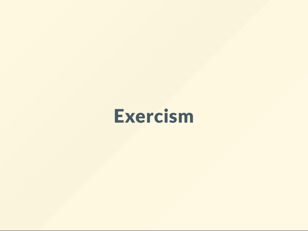 Exercism