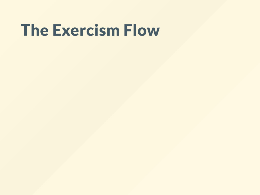 The Exercism Flow