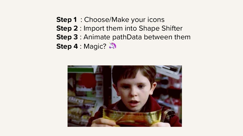 Step 1 : Choose/Make your icons Step 2 : Import...