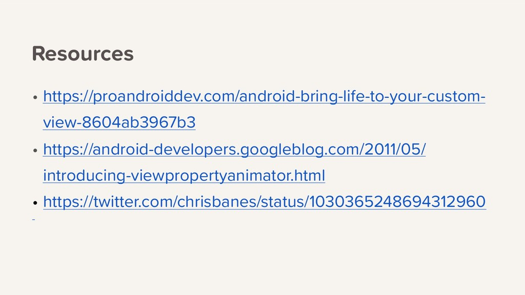 Resources • https://proandroiddev.com/android-b...