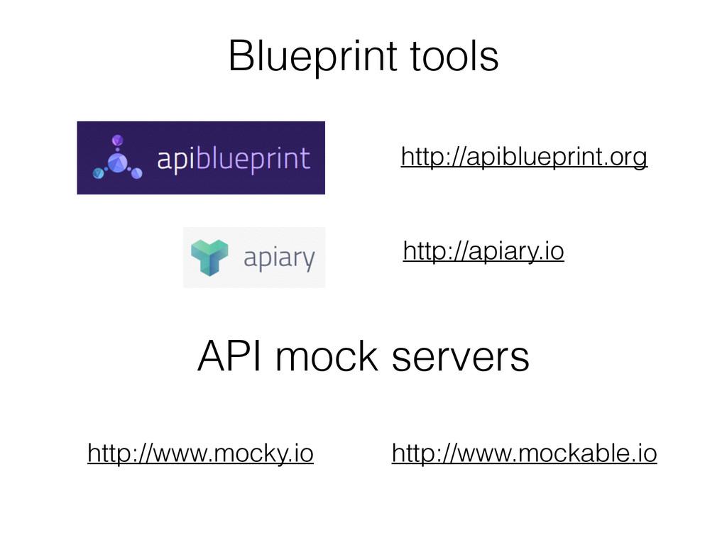 http://apiblueprint.org http://apiary.io API mo...