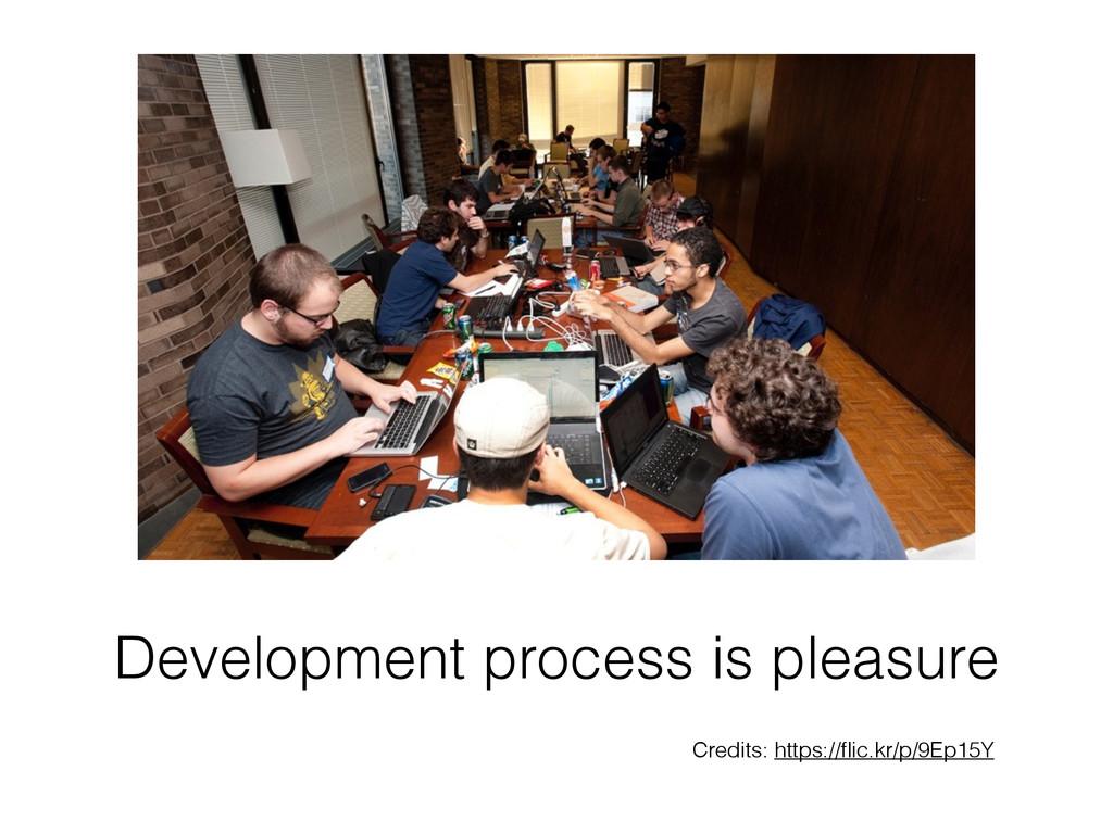 Development process is pleasure Credits: https:...
