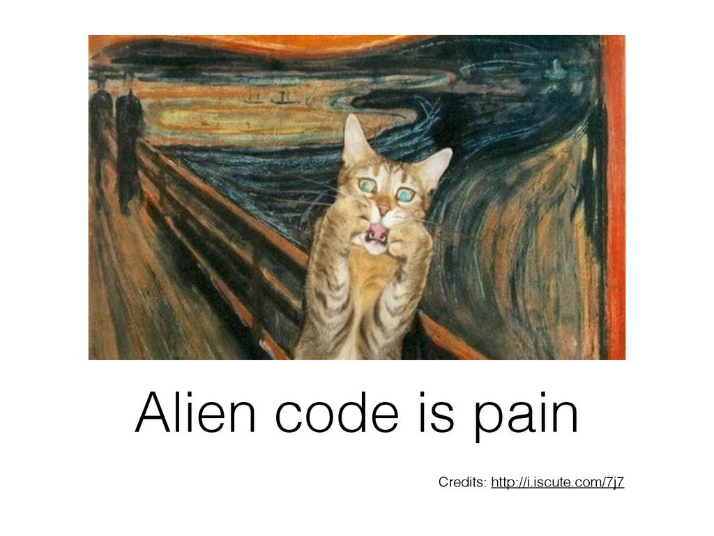 Alien code is pain Credits: http://i.iscute.com...