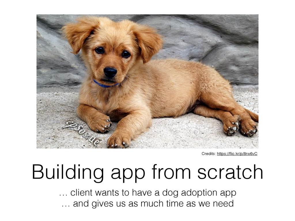 Building app from scratch … client wants to hav...